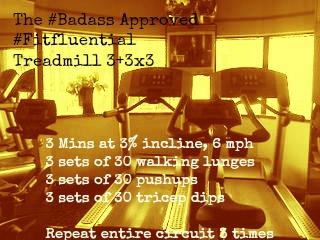 Treadmill 3x3